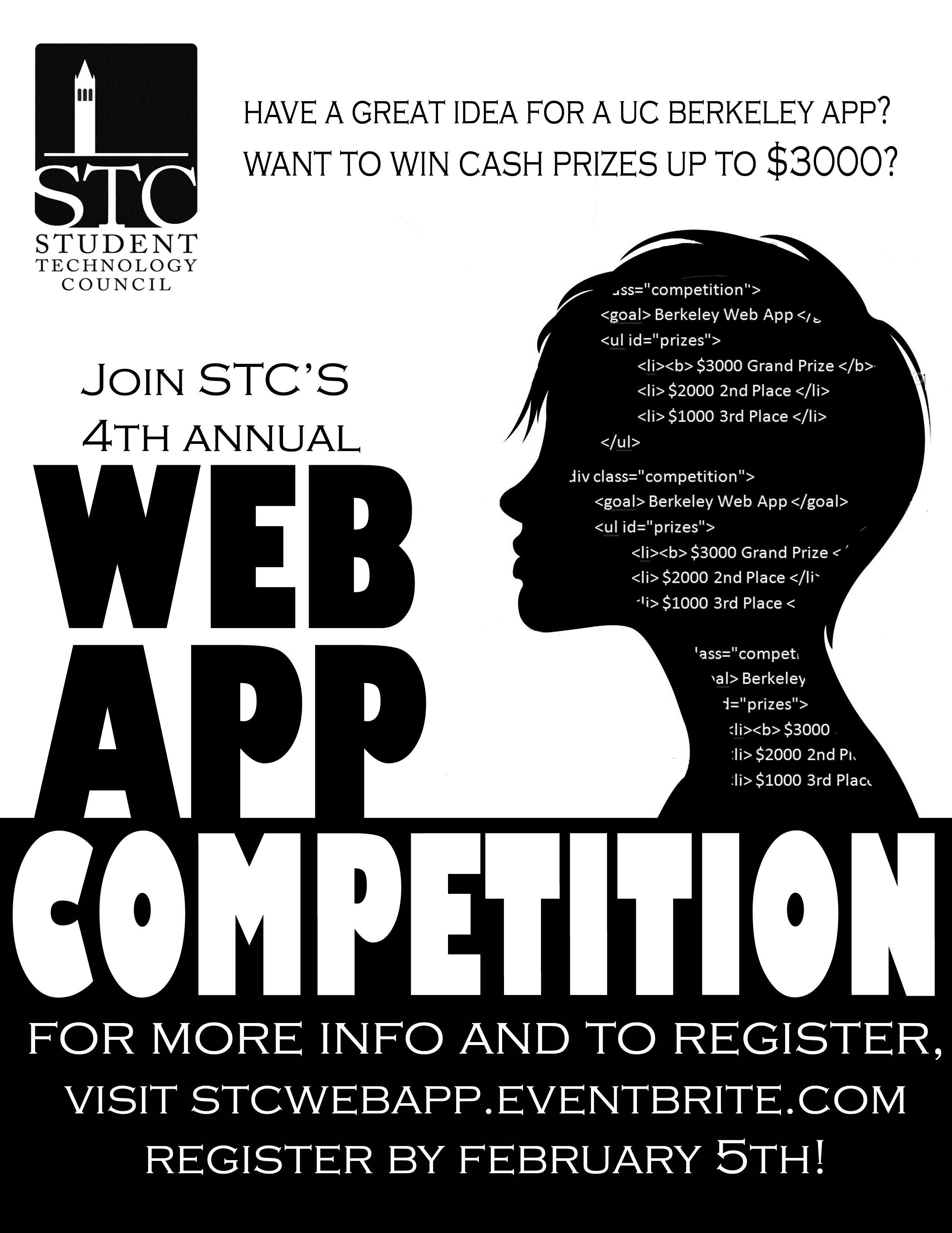 Web App Competition Flyer